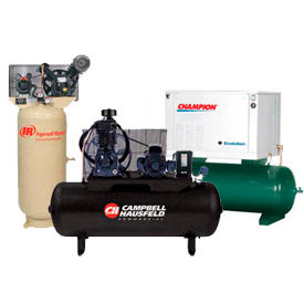 Two-Stage Electric Powered Air Compressors