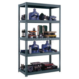 Edsal - Boltless HD Shelving with Steel Deck (4,000 lb max shelf cap)