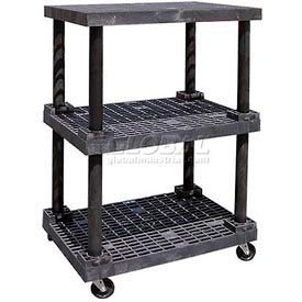 SPC Dura-Shelf® Structural Plastic Mobile Shelving Trucks