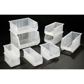 Lewisbins Clear Stacking Bins