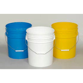 Economical 5 Gallon Plastic Pails & Lids