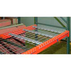 Pallet Rack - Wire Mesh Decking - Galvanized Steel