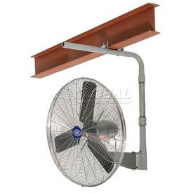 Oscillating I Beam Mount Industrial Fans
