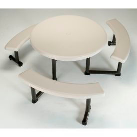 "Lifetime® 44"" Round Picnic Table"