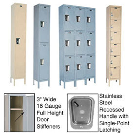 Hallowell Secure Quiet Steel Lockers- Ready To Assemble