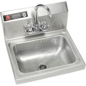 Wall Mount Hand Sink With Faucet