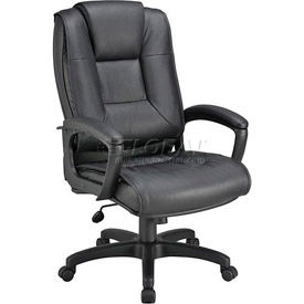 Interion™ - Premium Ultra Cushioned Leather Office Chair