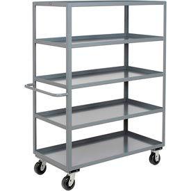Heavy Duty Welded Steel Shelf Storage Trucks