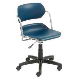 OFM -  Contour Series Plastic Swivel Chairs