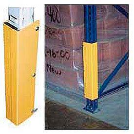 Pallet Rack - Steel Rack Guard With Rubber Bumper