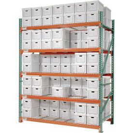 "Extra Heavy Duty Record Storage - 96"" & 120"" High"