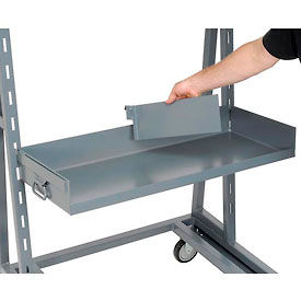 """14.125""""D x 4""""H Divider D6 for Lip and Open Front Jamco Trays"""