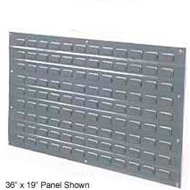 Louvered Wall Panels Without Bins