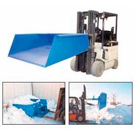Fork Lift Snow Loading Scoop & Dump Hopper