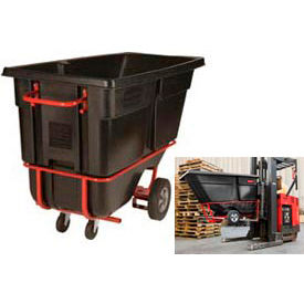 Rubbermaid Tilt Trucks With Fork Pockets
