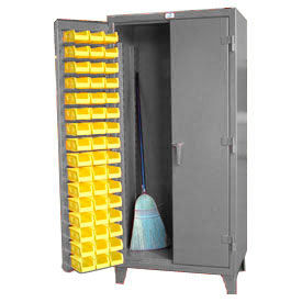 Strong Hold® All Welded 12 Gauge Long Tool & Bin Cabinet
