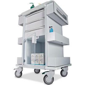 "TrippNT™ 51463 Element 01 All Purpose Healthcare Cart, 24""W x 19""D x 36""H, White"