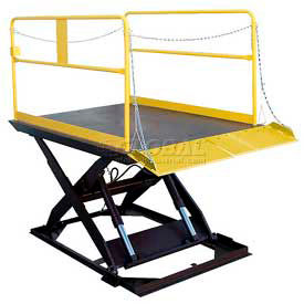 Electric Power Truck Scissor Dock Lifts