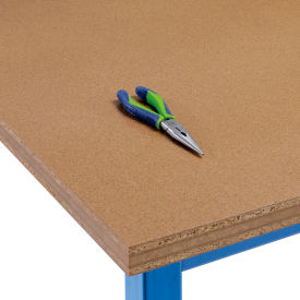 """60"""" W x 30"""" D x 1-1/2"""" Thick, Shop Top Square Edge Workbench Top"""