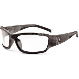 Ergodyne 51300 Skullerz Thor Safety Glasses, Typhon/Clear Lens Package Count 12 by