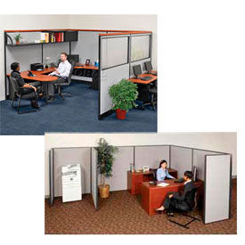 Interion® Pre-Configured Office Cubicle Partitions