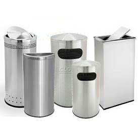 Precision Series® Steel Waste Receptacles