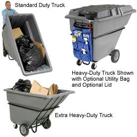 Garbage & Trash Plastic Tilt Trucks - Up To 1 CU. YD. Capacity