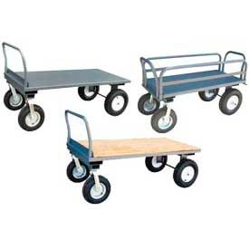 Heavy Duty Flatbed Platform Trucks