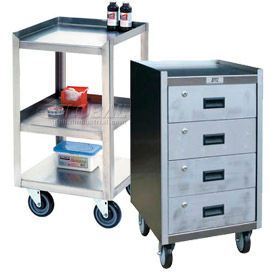 Jamco Stainless Steel Mobile Work Stands