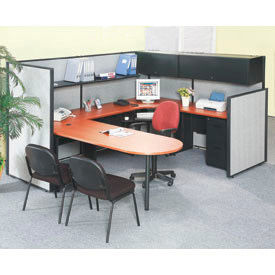 Interion® Office Cubicle Partition Furniture