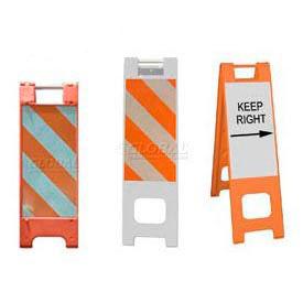 Narrowcade® & Minicade® Folding Traffic Barricades/Sign Stands