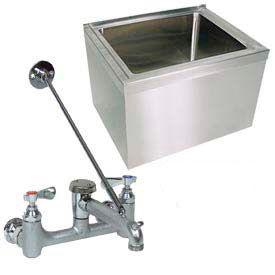 Stainless Steel Mop Sinks