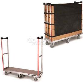 Galvanized Steel Deck Narrow Aisle High End Platform Trucks