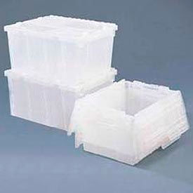 Orbis® Clear Containers With Hinged Lids
