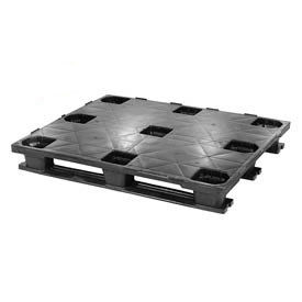 Closed Deck Rackable Plastic Pallets Static Capacity Up To 19800 Lbs.