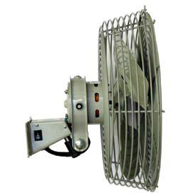 Low Velocity Navy Workstation Fan