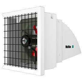 Multifan Hood Shutter Ventilation System