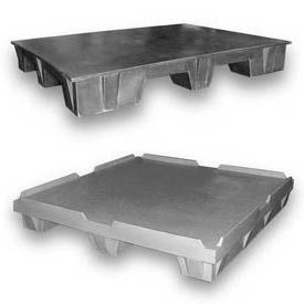 Rotationally Molded Plastic Specialty Pallets - Flat Top