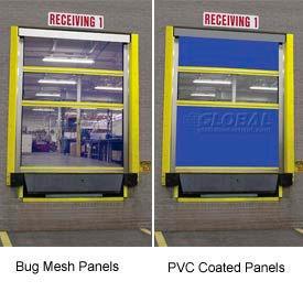 Screen-Pro™ Roll-Up Bug Dock Doors