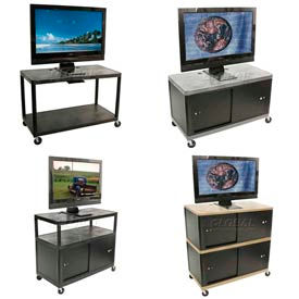 Luxor Endura® Plasma, LCD And Flat Panel Monitor Carts