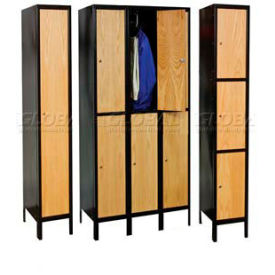 Hallowell® Wood & Metal Hybrid Lockers