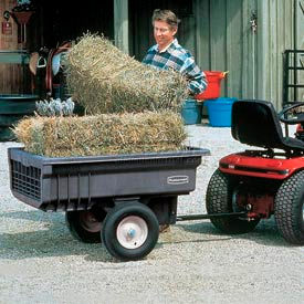 Rubbermaid Lawn Tractor Cart Trailers