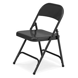 Virco® Steel Folding Chairs - Fabric Or Vinyl Upholstery