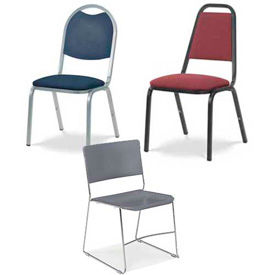 Virco® Straight Back Stacking Chairs