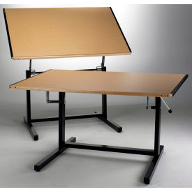 Mayline® Dual Adjustment Drawing Tables