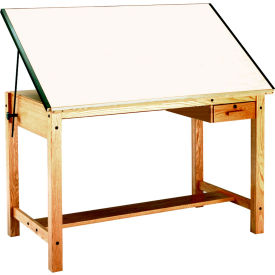 Mayline® Four-Post Drafting Table