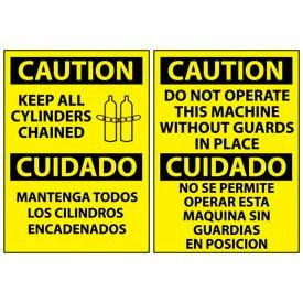 Bilingual Caution Signs