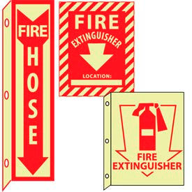 Glow Fire Safety Equipment Signs