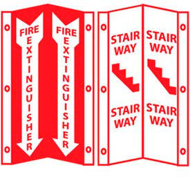 Acrylic Fire Safety Visibility Signs