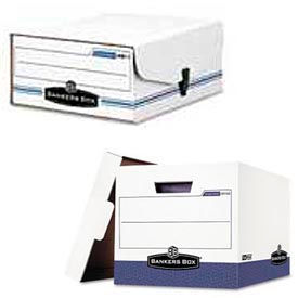 Storage Boxes For Binders & Computer Printout